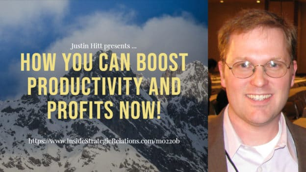 Boost Your Productivity and Profits Now (podcast)